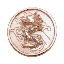 Nikki Lissoni dragons and diamond coin