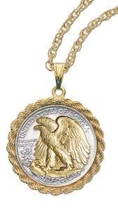 U.S. Eagle pendant